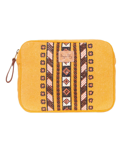 Tigerlily Azar Travel Case - Mustard