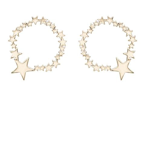 Kitte- Ziggy Earrings- Gold