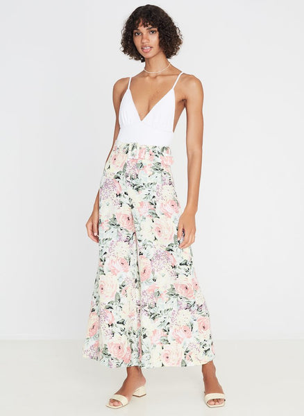Faithfull Rose Wide Leg Pants - Venissa Floral Print