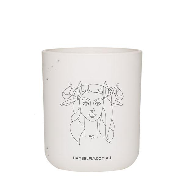 Damselfly Candle L - Aries