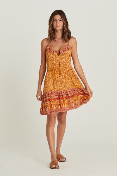 Arnhem Island Mini Dress - Mimosa