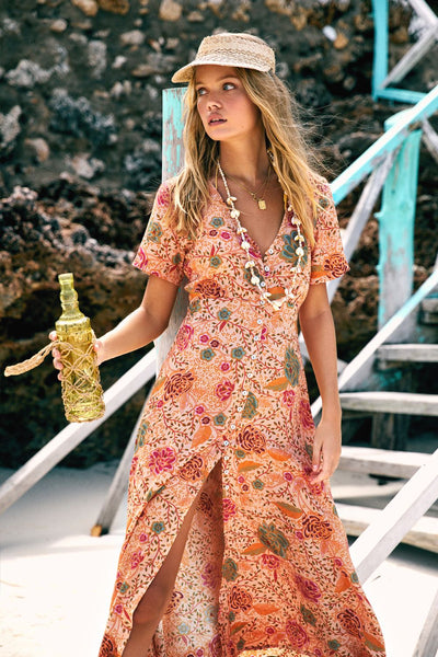 Arnhem Leilani Sundress - Jungle Sands