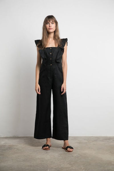 Lilya Asha Jumpsuit - Black