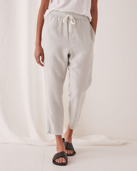 Assembly Label Anya Linen Pants - Green Mist