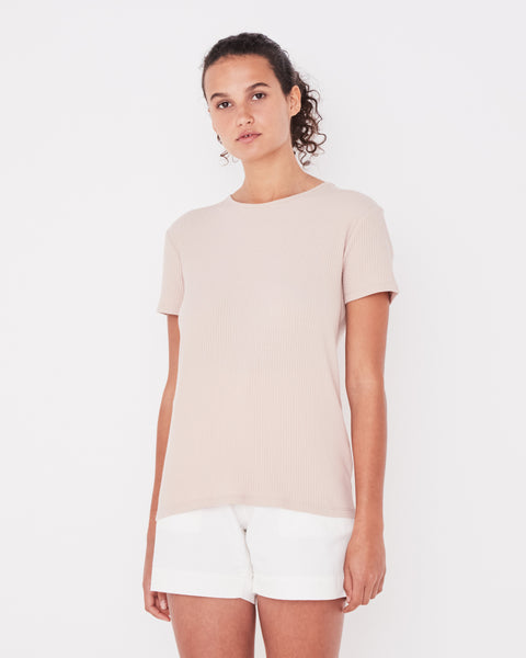 Assembly Label Ida Rib Tee - Dusk