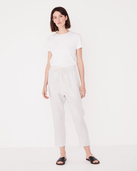 Assembly Label Anya Linen Pant - Pumice