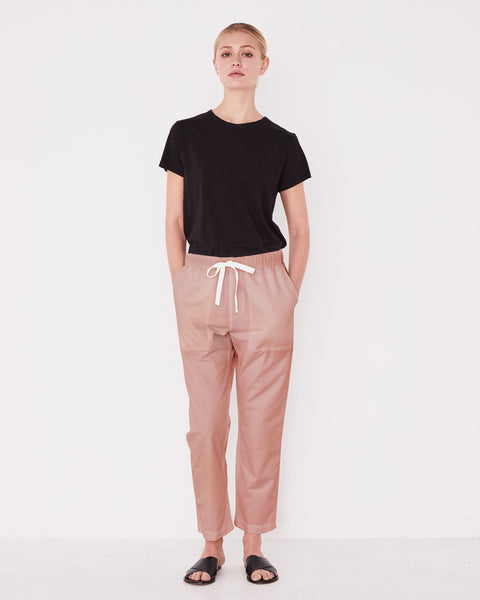 Assembly Label Coast Cotton Pants - Cameo Pink