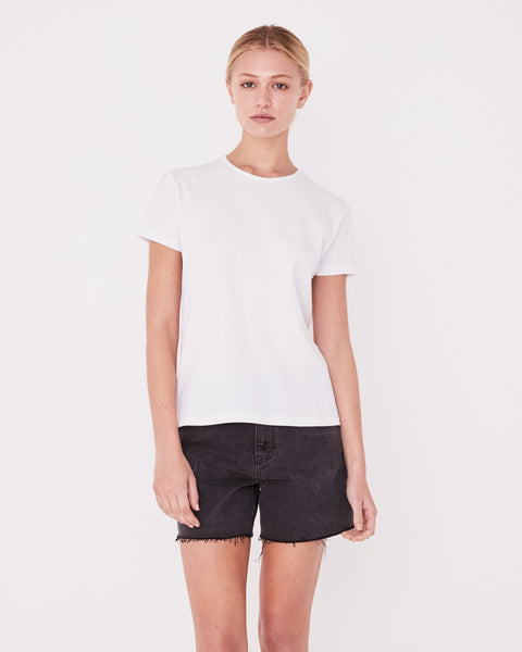 Assembly Label Ida Rib Tee - White