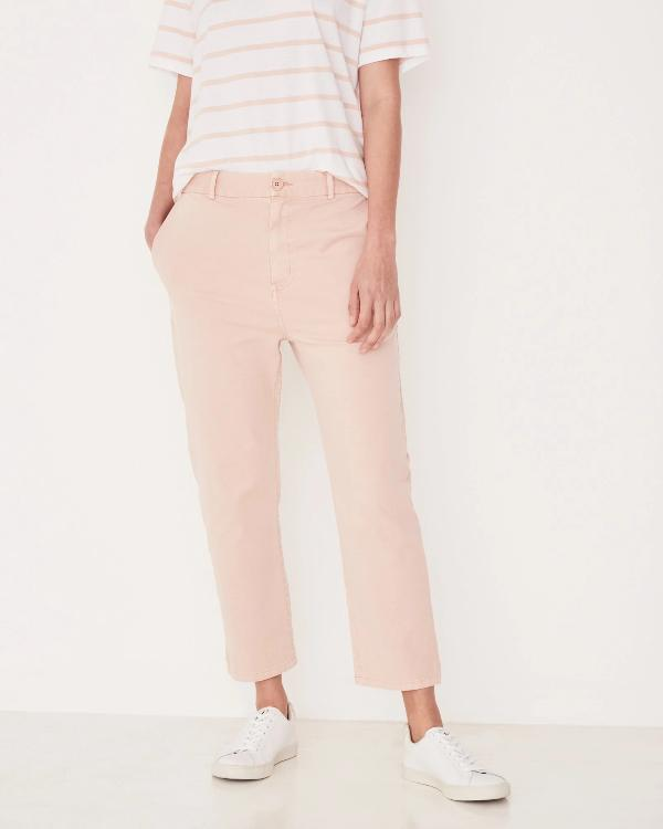Assembly Label Santal Linen Pant - Rosewater