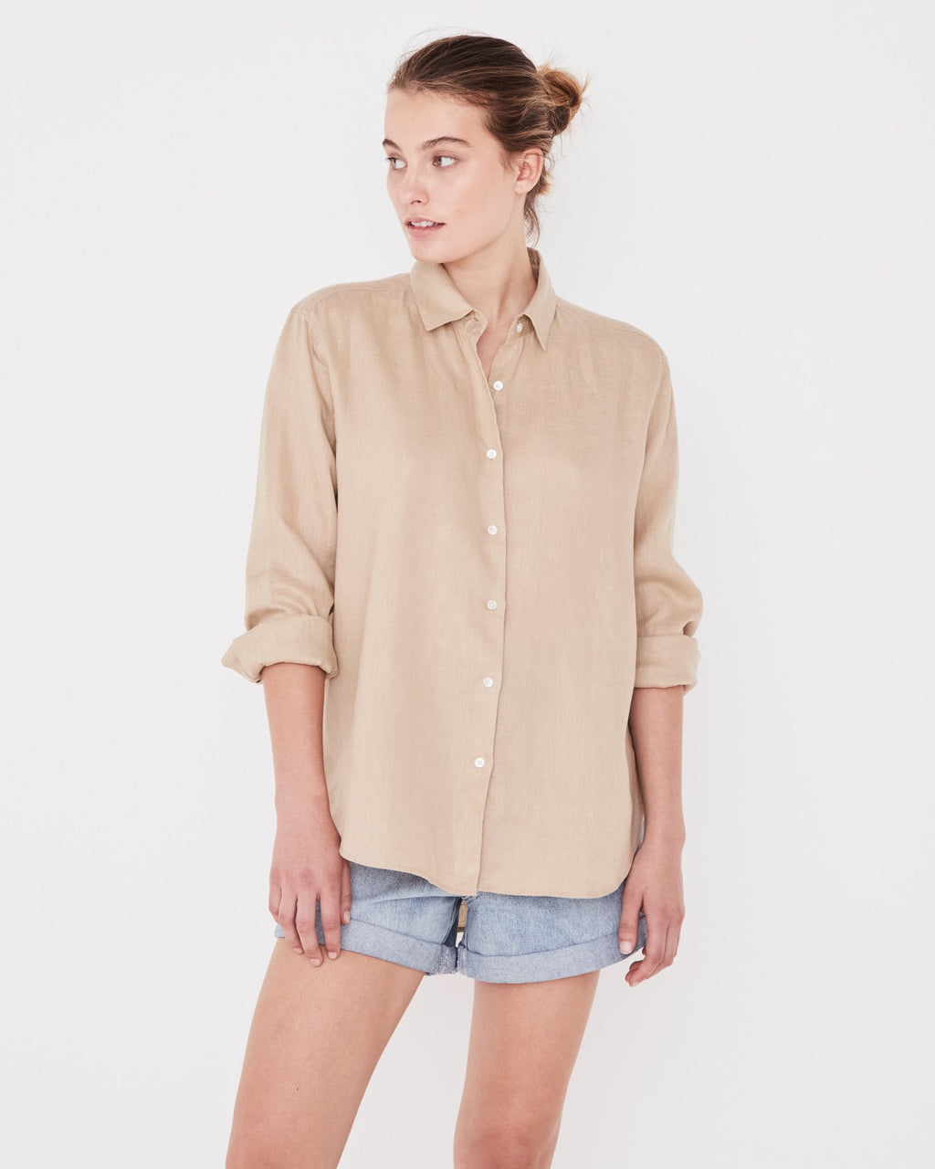 Assembly Label Xander Long Sleeve Shirt - Dover