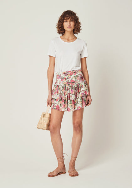 Auguste Provence Dylan Mini Skirt - Natural