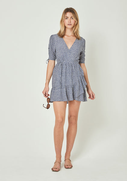 Auguste River Della Mini Dress - Lavender