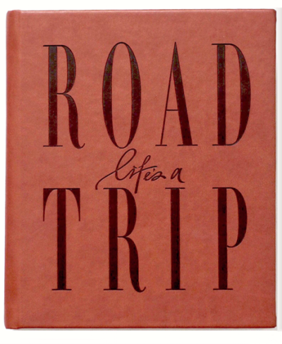 Axel & Ash Life's A Roadtrip Book- Tan