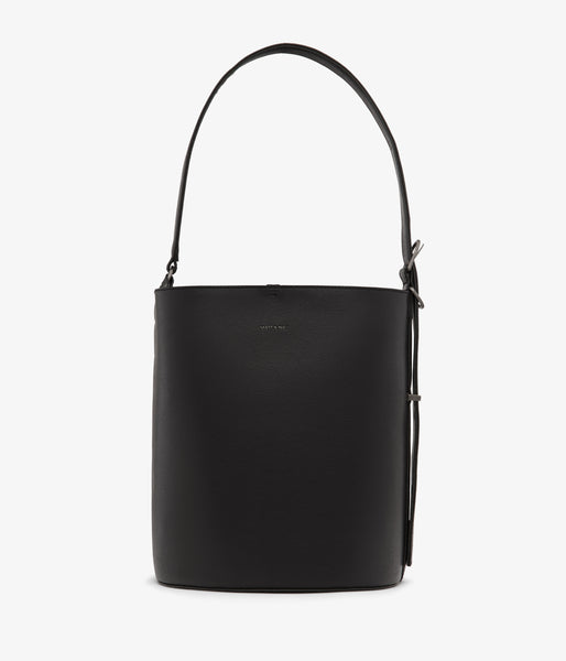 Matt & Nat - Azur Vintage Bucket Bag - Black