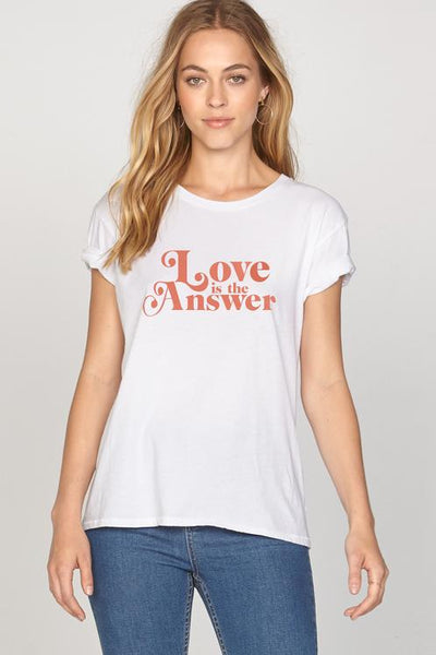 Amuse Society Psych Love Tee