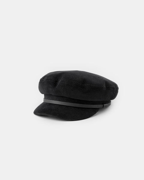 Will & Bear Baker Cap - Black