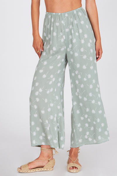 Amuse Society Barefoot Pants - Palm Green