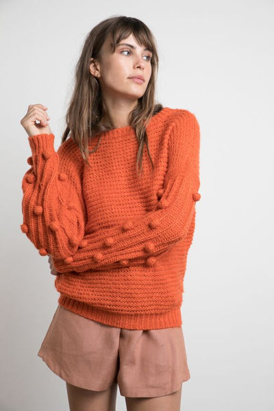 Lilya Bauble Knit - Clay