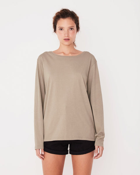 Assembly Label Bay Long Sleeve Tee - Seagrass