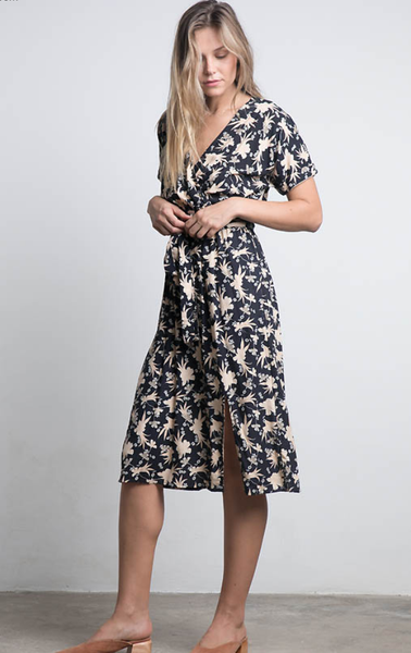 Lilya Bedouin Dress - Nomad Batik Black