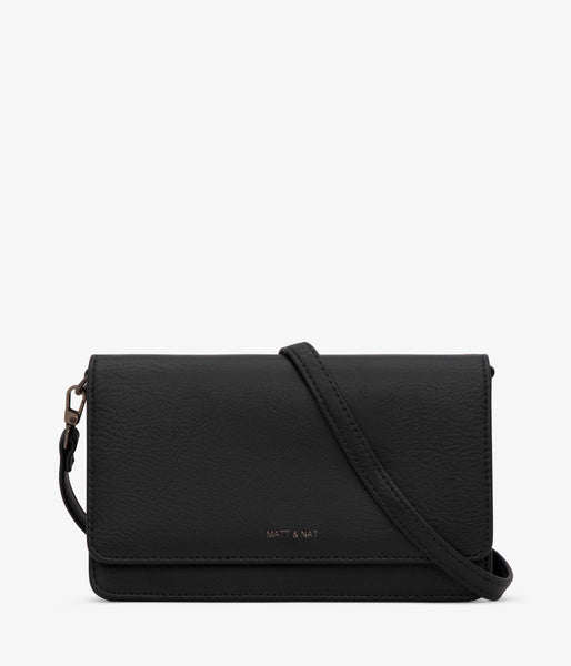 Matt & Nat - Bee Dwell Crossbody Bag - Black