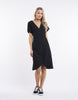 All About Eve Avery Wrap Dress - Black
