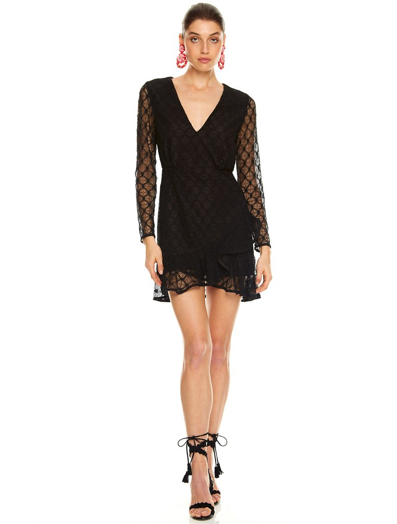 Talulah Break Free Mini Dress - Black