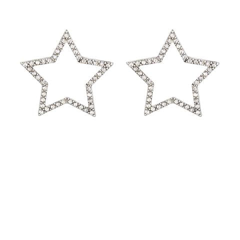 Kitte- Seeing Stars Earrings- Silver