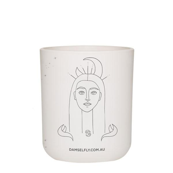 Damselfly Candle L - Cancer