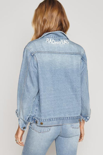 Amuse Society Outlands Denim Jacket