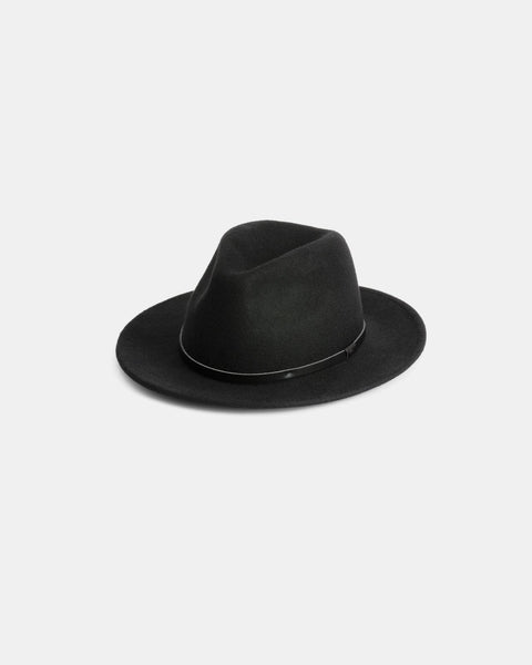 Will & Bear William Fedora - Black