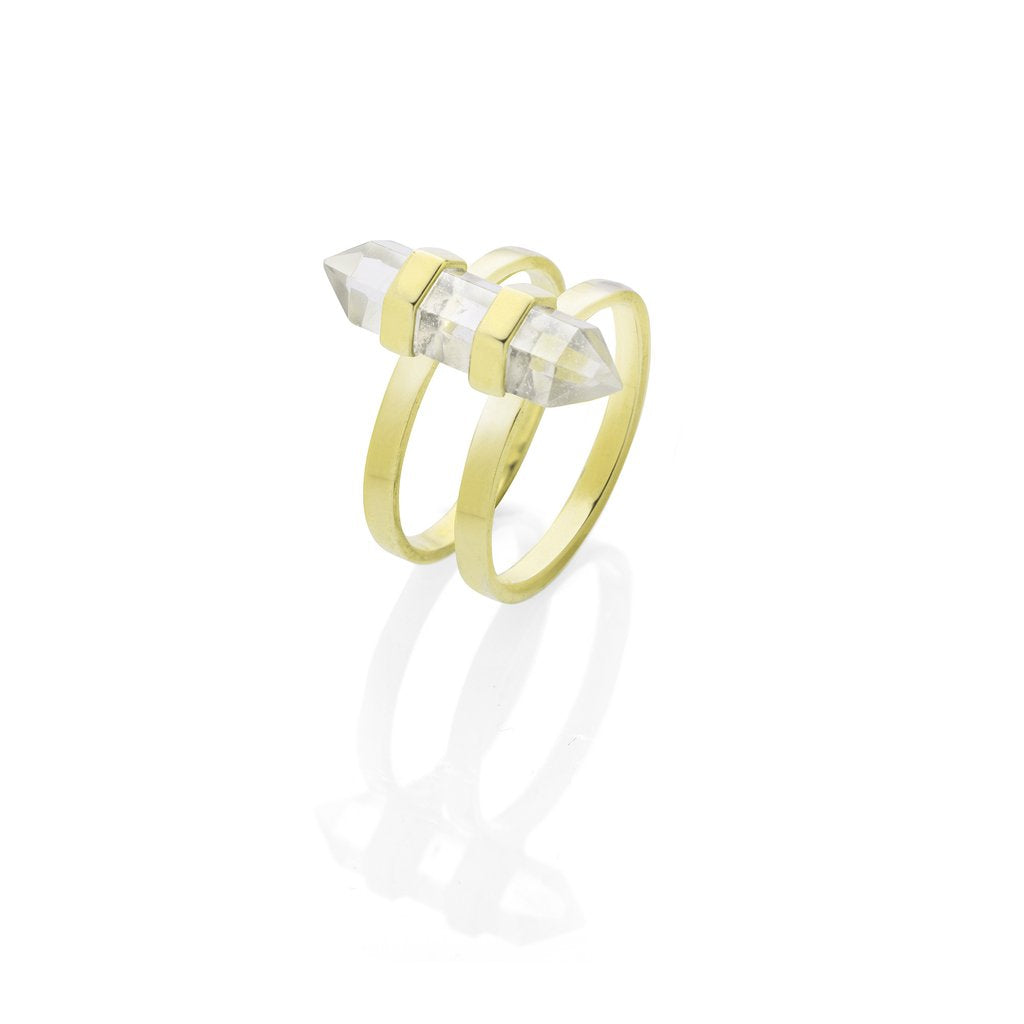 Krystle Knight New Harmony Ring - Brass