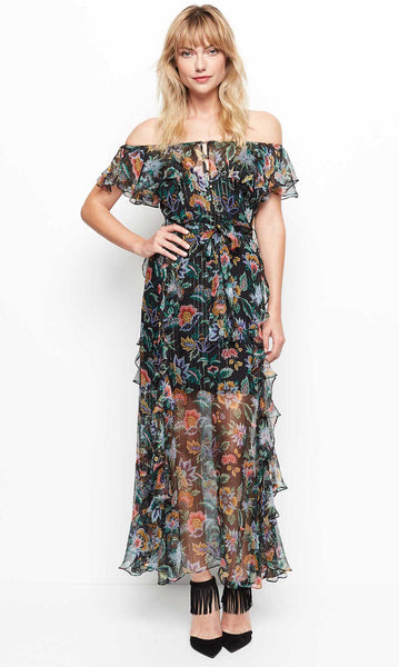 Alice McCall Oh Oh Oh Maxi Dress - Night Garden