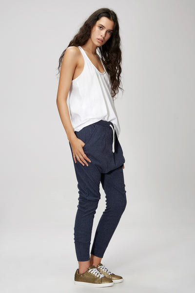 The Fifth Fly With Me Pant - Navy Marle