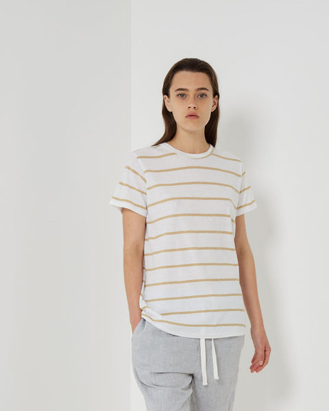 Assembly Label Everyday Tee - Sand Stripe