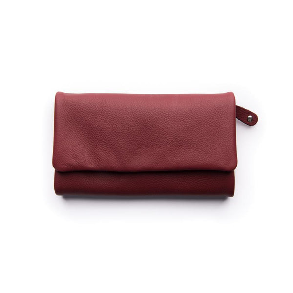 Stitch & Hide Paiget Wallet - Cherry
