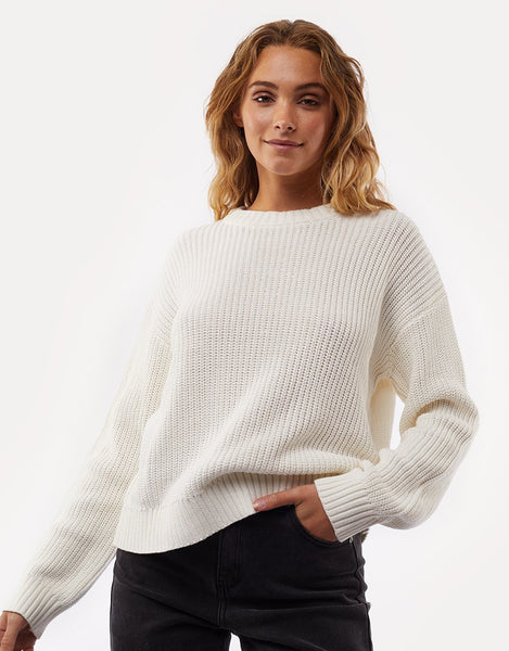 All About Eve Everyday Knit Sweater- Bone