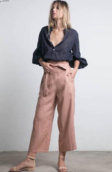 Lilya Elm Pant - Dusty Rose