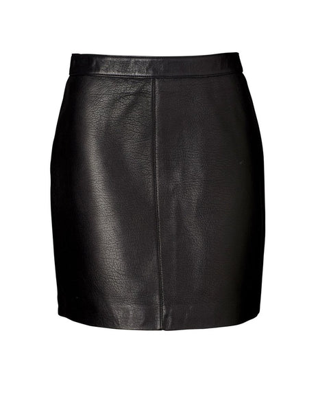 Ena Pelly Classic Mini Skirt- Black