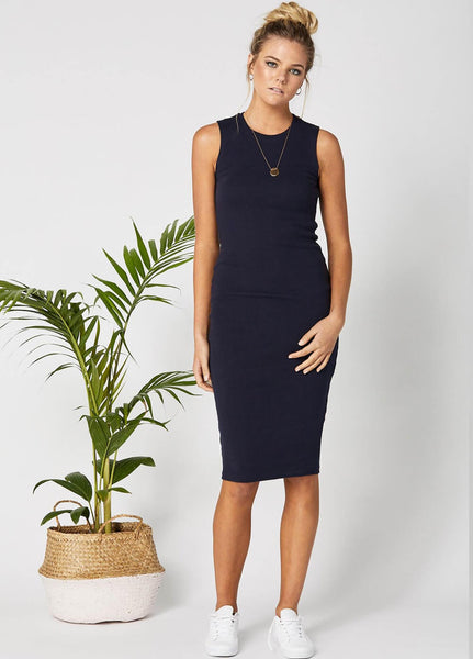 Legoe Portugal Dress - Navy