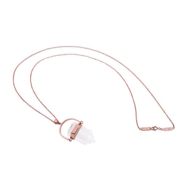 Krystle Knight Mini New Beginning Necklace - Rose Gold