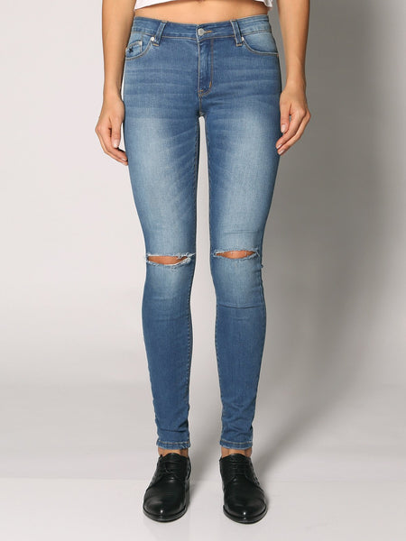Res Denim Trashqueen Skinny Creeper