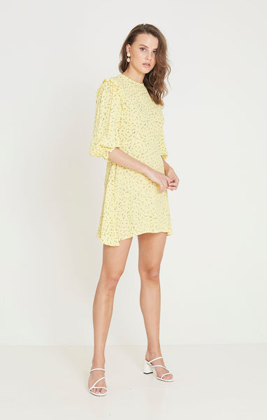 Faithfull The Brand Edwina Mini Dress - La Fica Floral Print