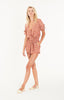Faithfull The Brand Cusco Playsuit- Blossom Village Print Vintage Pink