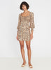 Faithfull Ira Mini Dress - Wyldie Animal Print