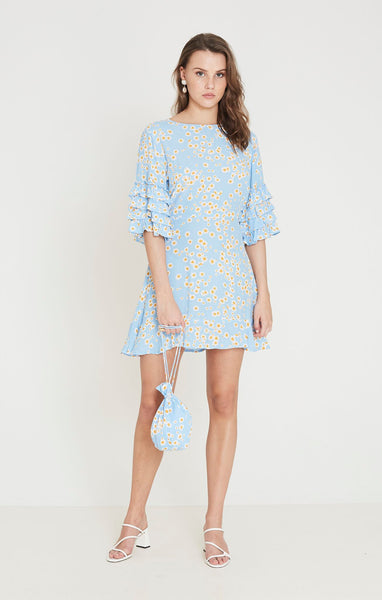 Faithfull Serafina Mini Dress - Le Bon Floral Print