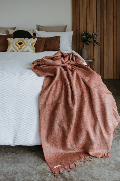 Hobo and Hatch Blanket - Gooseberry