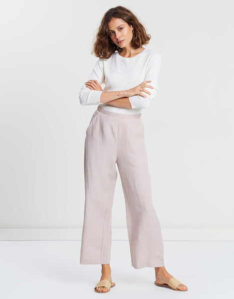 Assembly Label Elsa Cropped Pant - Fawn