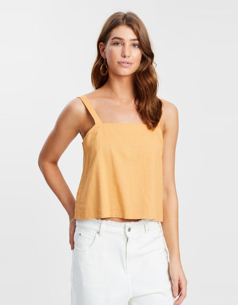 Nude Lucy Albion Linen Cami - Golden Glow