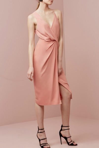 Keepsake Without You Dress Dusty Rose